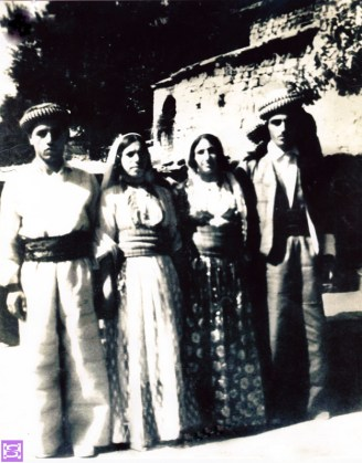Yousif Jabuo with his wife Nadira & Khwaja Hanna With his wife Maryam.