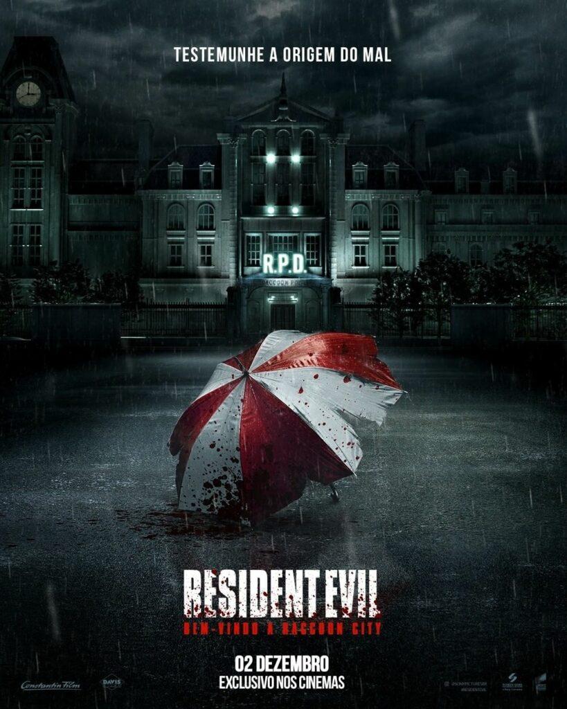 Pôster nacional e oficial de Resident Evil: Welcome to Raccoon City