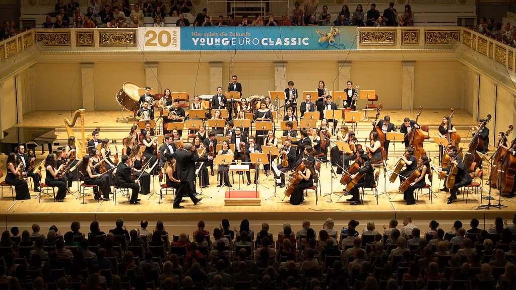 Musikalischer Brückenbau -Jugendphilharmonie der Türkei beim Young Euro Classic 2019