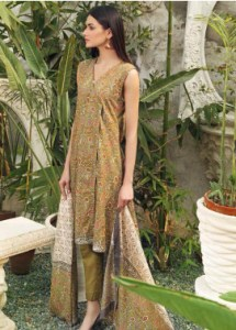 Gul Ahmed CL1184A Basic Lawn