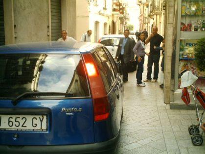Corso Roma in San Bartolomeo in Galdo