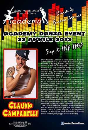 ACADEMY DANZA EVENT 22 APRILE 2013
