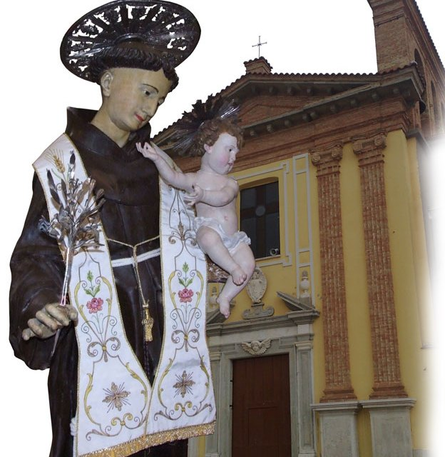 S. Bartolomeo in Galdo Restaurata la statua lignea di S.Antonio da Padova