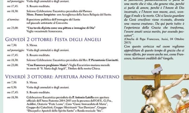Festività di San Francesco d'Assisi
