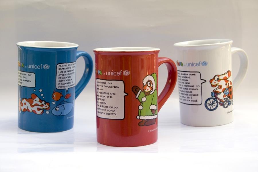 4 e 5 ottobre in vendita le tazze dell'UNICEF