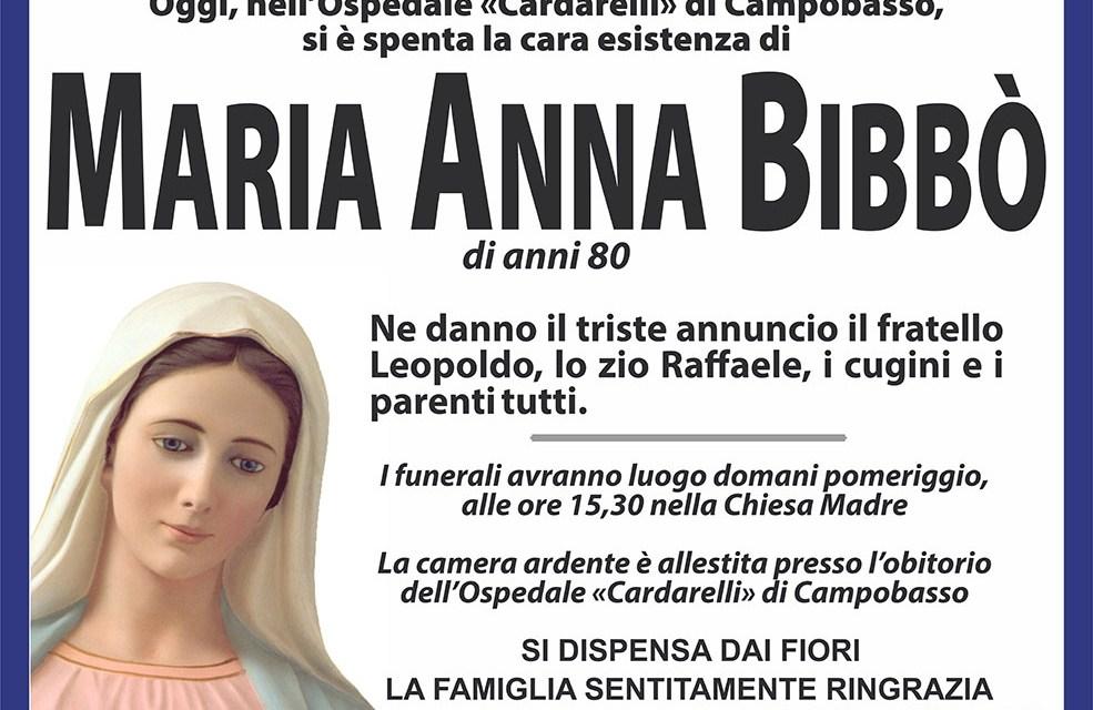 Maria Anna Bibbò