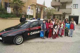 S. Bartolomeo – Alunni in visita alla Compagnia Carabinieri