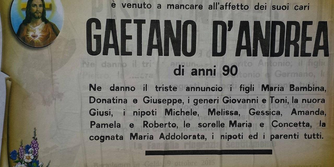 Gaetano D'Andrea