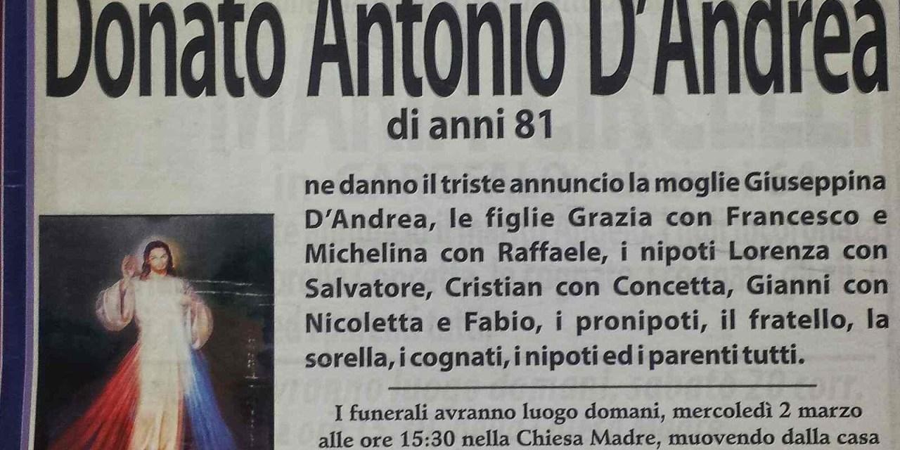 Donato Antonio D'Andrea