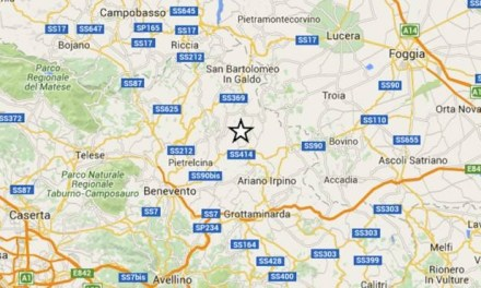 Sciame sismico nel Sannio: lieve scossa anche in Irpinia