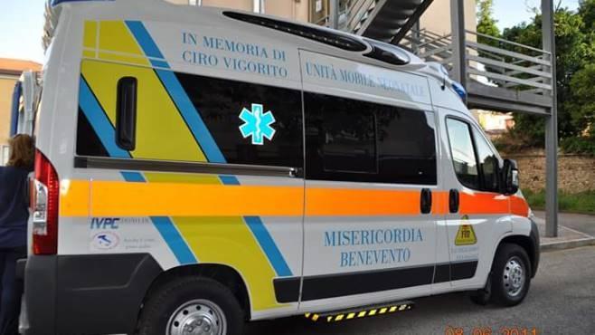 Benevento-Lecce. La Misericordia ha effettuato 17 interventi
