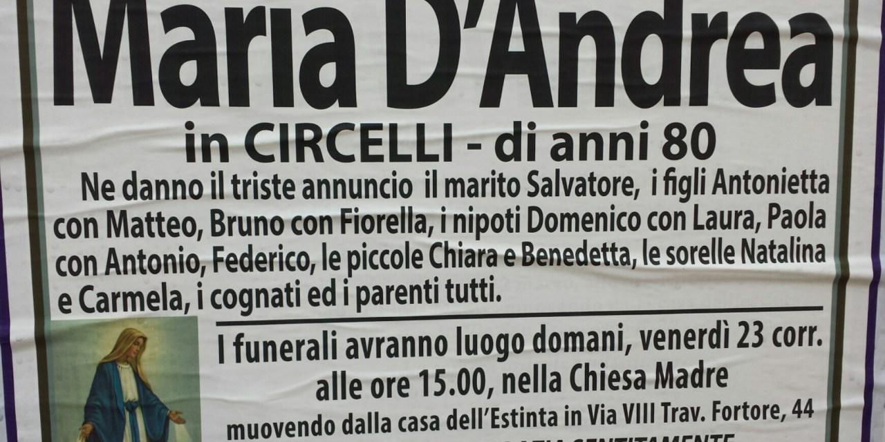 Maria D'Andrea