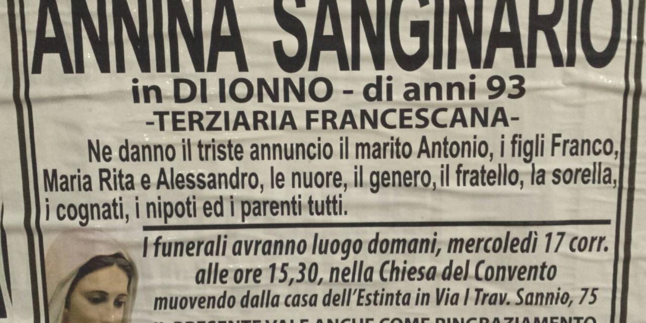 Annina Sanginario