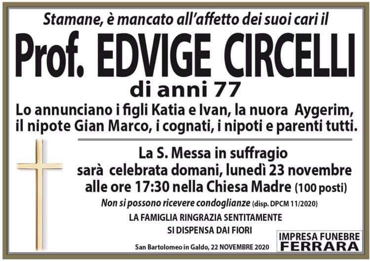 Prof. Edvige Circelli