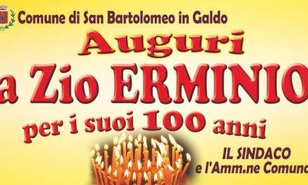 Buon compleanno zio Erminio