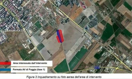 Foggia, una seconda stazione ferroviaria sulla linea dell'Alta Velocità/Capacità: lavori al via primo semestre 2023