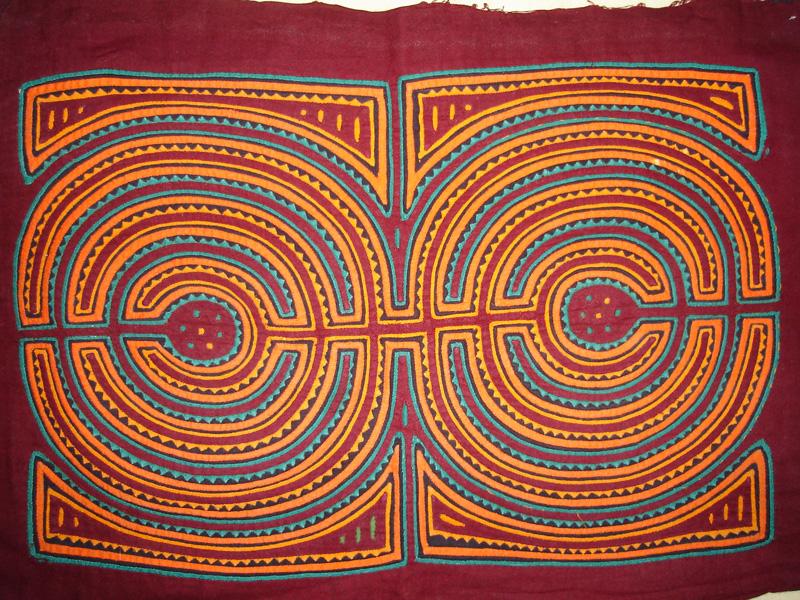Traditional Molas Kuna Yala