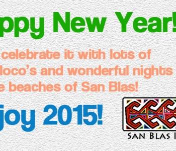 New Year San Blas Panama