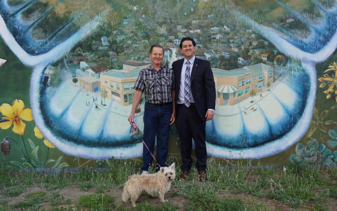 David Canepa Supporting Murals in Brisbane