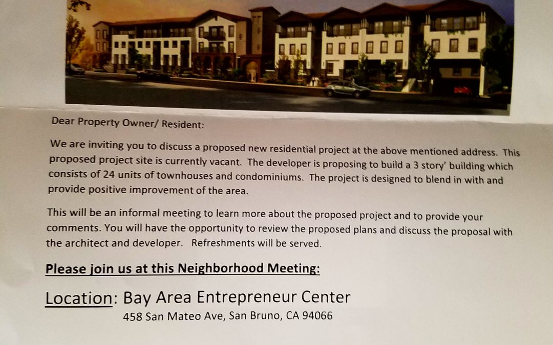 New Development on El Camino