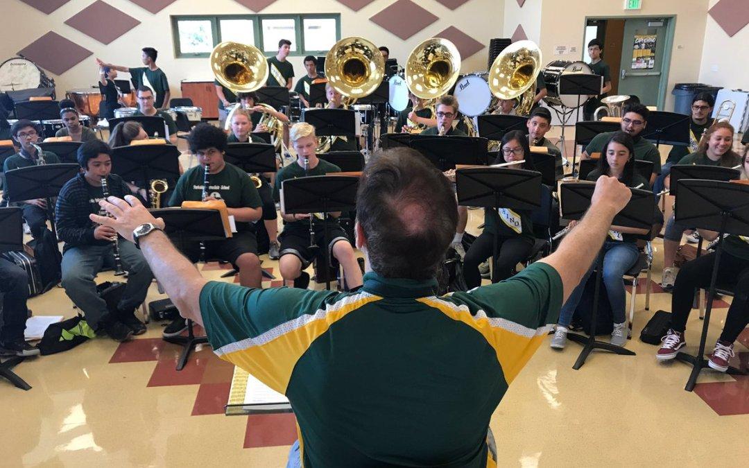 Bravo Capuchino High School Marching Band