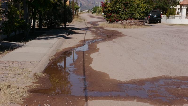 La Madita CEA; La Comision Estatal de Aqua, The Damn Water Company in Guaymas