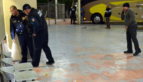 Ernesto Alfonso shot or beaten in Tufesa bus terminal in Guaymas