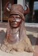 Iron wood head