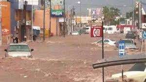 Massive flooding in Guaymas last Saturday rivals Hurrican Jimena. 25,000 people have been reported homeless