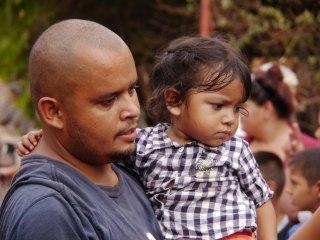 Senor con hija