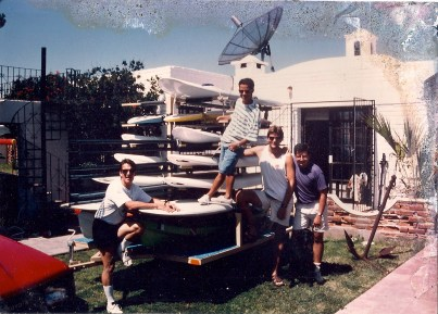 Carl & Tech de Monterrey buddies Trailer of Windsurf Gear
