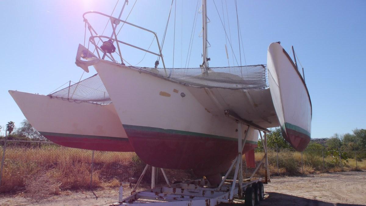 WorldsAquarium is Raising funds for Marine Protected Area in San Carlos: Jim Brown 31 Sea Runner Trimaran Donated and for sale