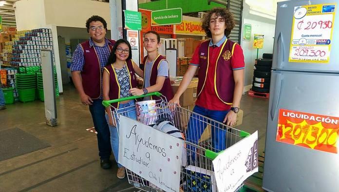 Club Leos de San Carlos reactiva su campaña de cada año, para llevar útiles a diferentes escuelas del cantón, en condición de pobreza.