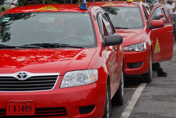 Taxistas sancarleños
