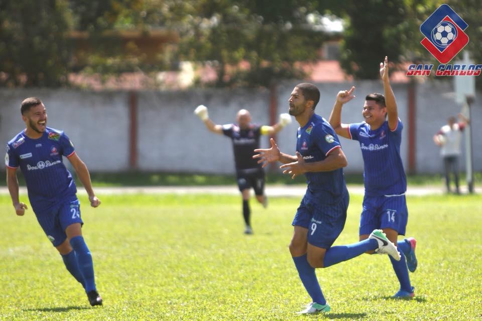 Con gol de Álvaro Saborío, San Carlos está en semifinales