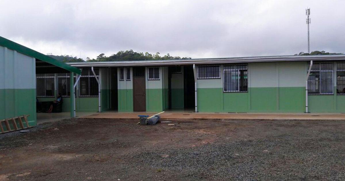 Del salón comunal a nueva y moderna escuela