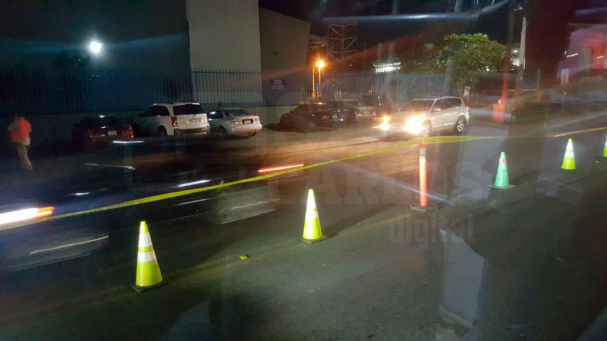 Tránsito busca prohibir giros indebidos en inmediaciones del Hospital, con operativos continuos