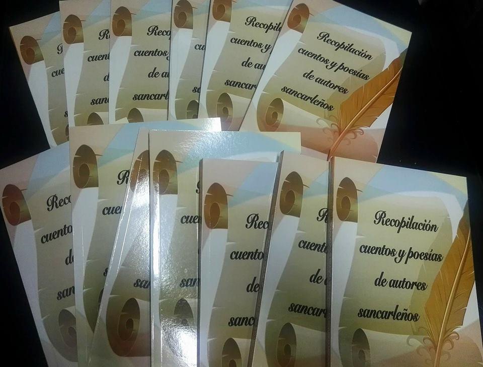 15 escritores sancarleños recopilan cuentos y poesías en un libro