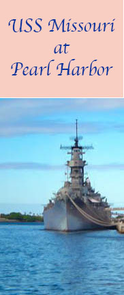 USS #Missouri is open to visitors at Pearl Harbor.