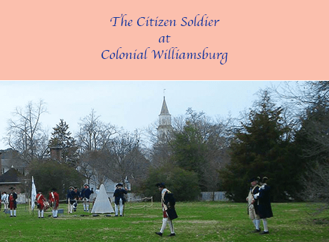 While others debated the War for Independence on philosophical grounds, one #ColonialWilliamsburg couple argue the very present, practical plusses and minusses of his joining the fight, in the Revolutionary City street skit The Citizen Soldier!