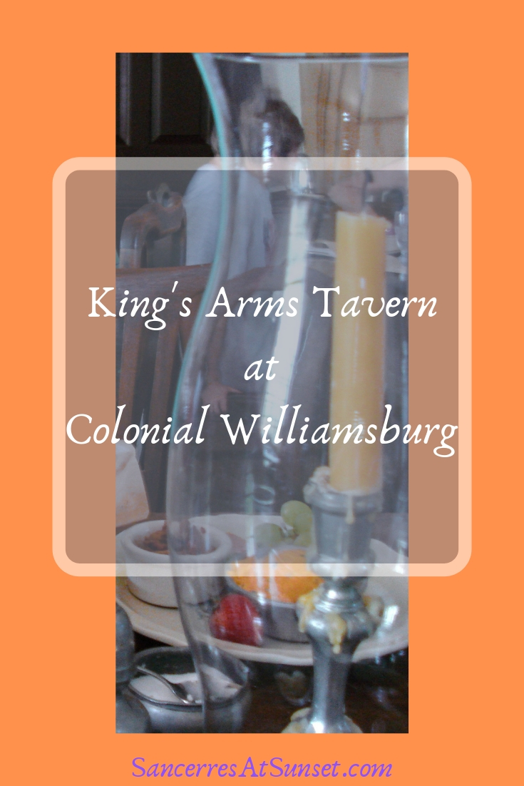 Visitors to Colonial Williamsburg can enjoy an 18th-century meal at the King\'s Arms Tavern.