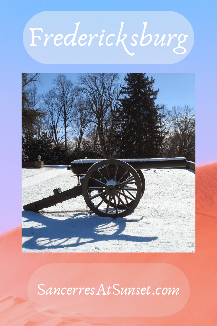 #Fredericksburg is where the American Revolution meets the Civil War.