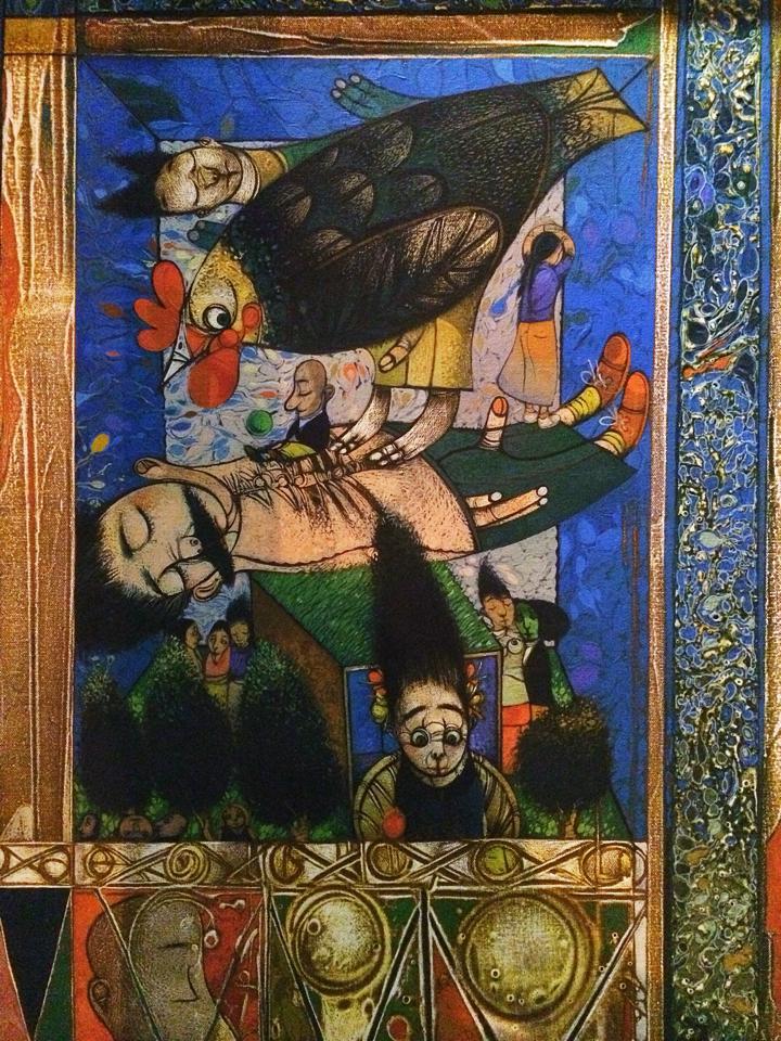 PEDRO PABLO OLIVA: UNA BENDICION DE LOS APOSTOLES...