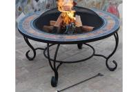 Fire-Pit-Table-Grill | Fire Pit Landscaping Ideas, Design ...