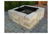 Fire Pit Kits Home Depot. Latest Mezzo Square Fire Table ...