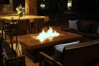 Large fire pit means a large party!   Fire Pit Landscaping ...