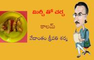 మిర్చీ తో చర్చ-9: మిర్చీ ట్రెయినర్