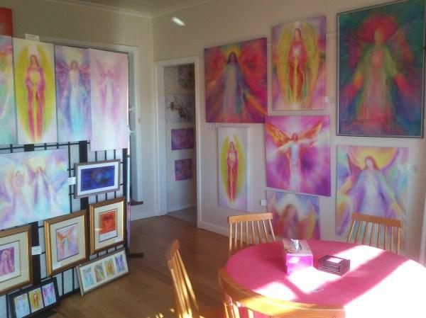 Angel Paintings Gallery