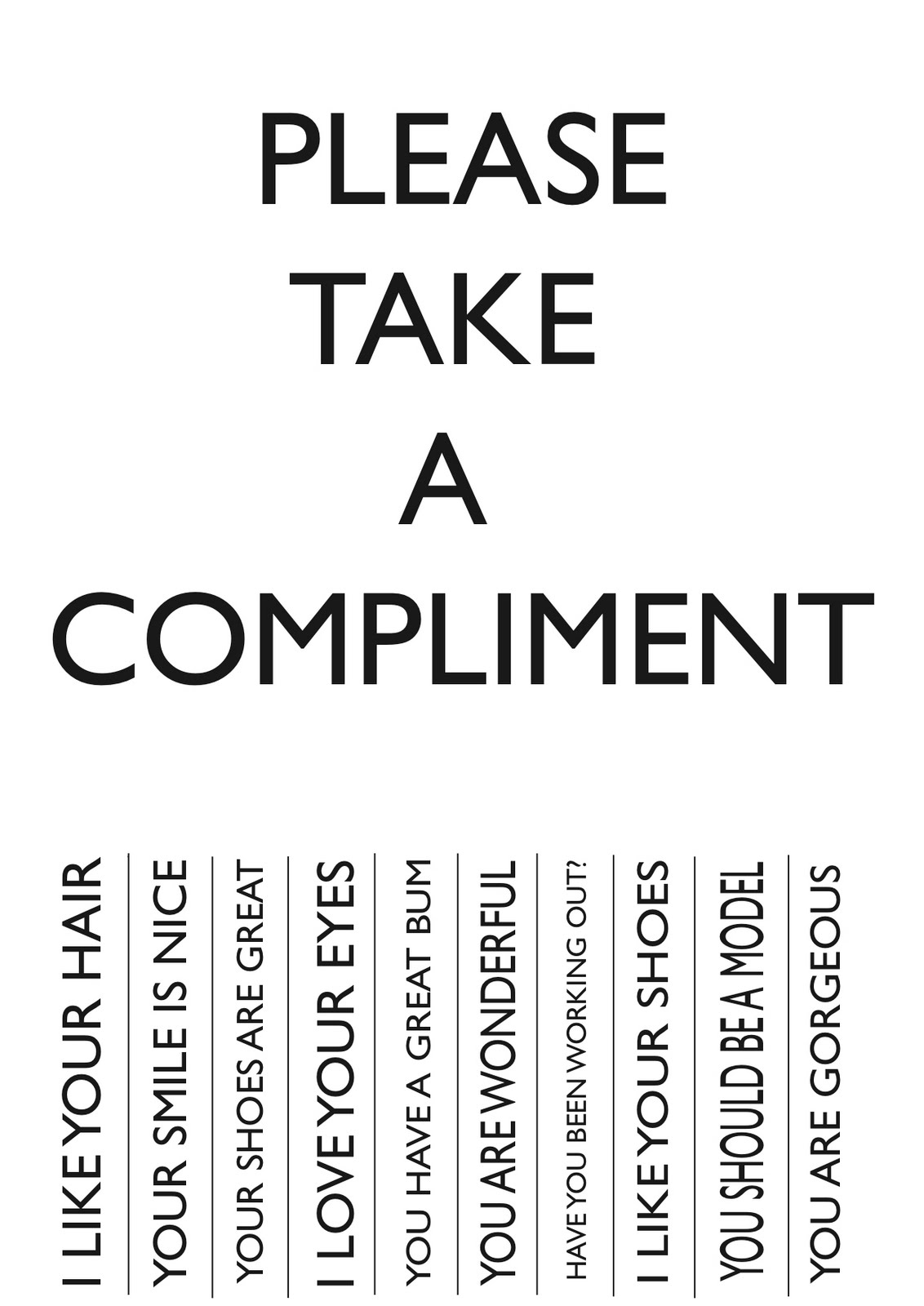 National Compliment Day 2013
