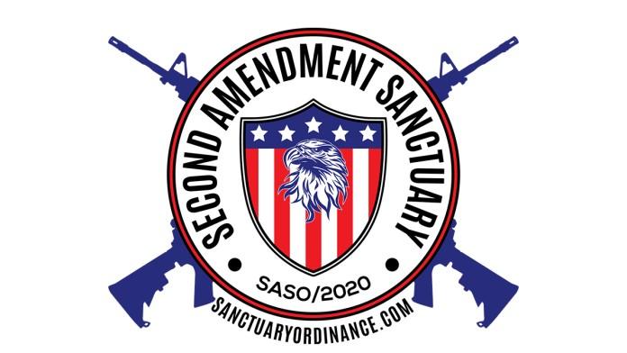 Logo for Second Amendment Sanctuary website sanctuaryordinance.com